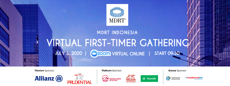 MDRT Indonesia Virtual First Timer Gathering